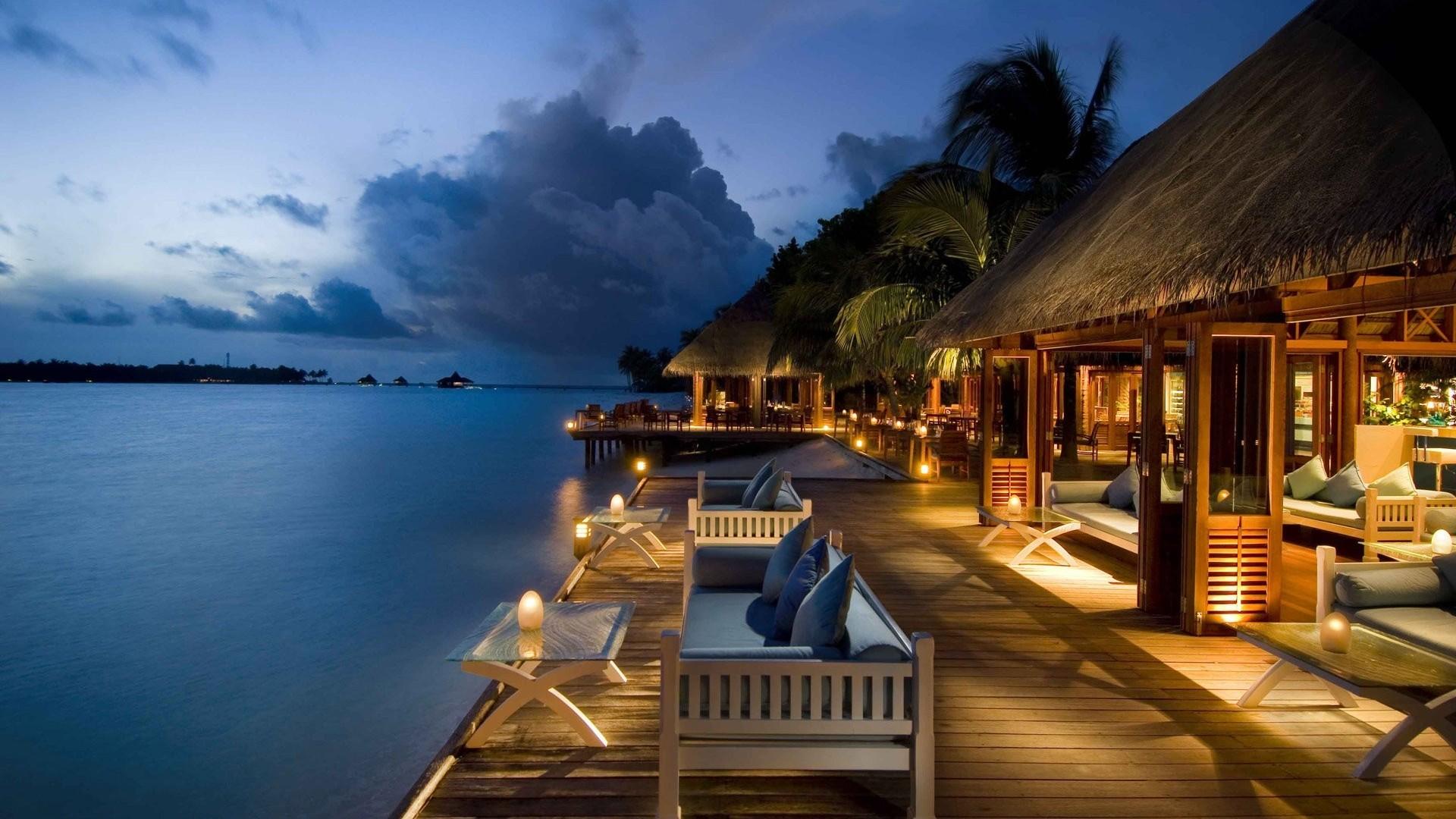 Resort Wallpaper in high resolution for Get Maldives Resort 1920x1080