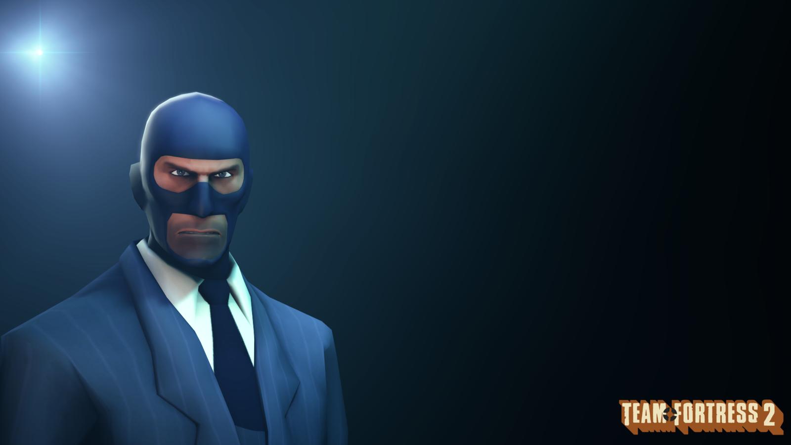 wallpaper blu spy by datdrunkensoldier fan art wallpaper games 2013 1600x900