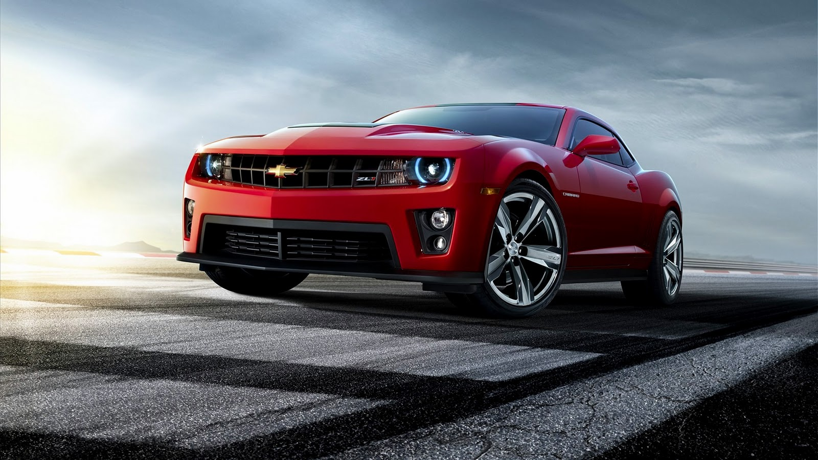 Chevrolet Camaro ZL1 Red HD Wallpaper Download Wallpapers in HD 1600x900