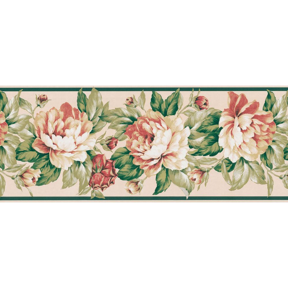 Cream Botanical Wallpaper Border eBay 1000x1000