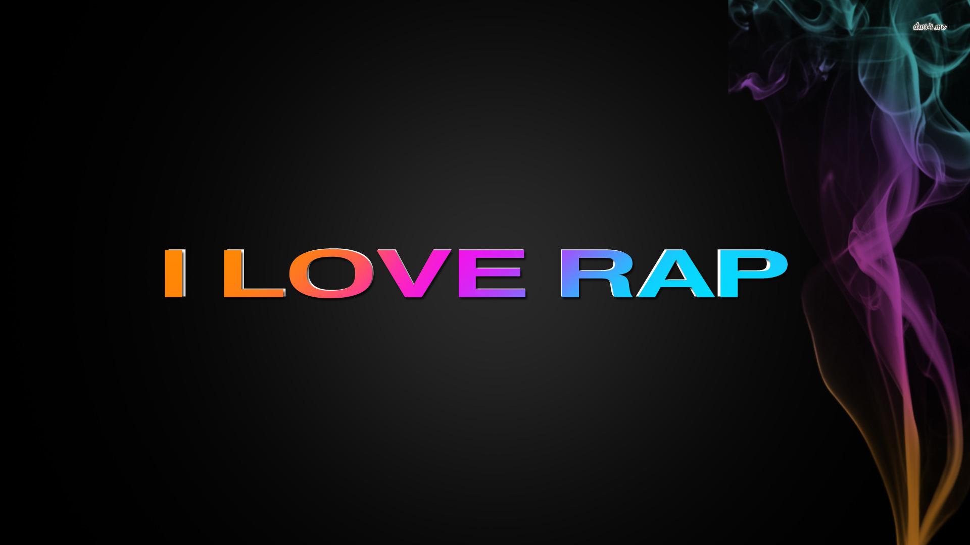 Love Rap wallpaper 1280x800 I Love Rap wallpaper 1366x768 I Love Rap 1920x1080