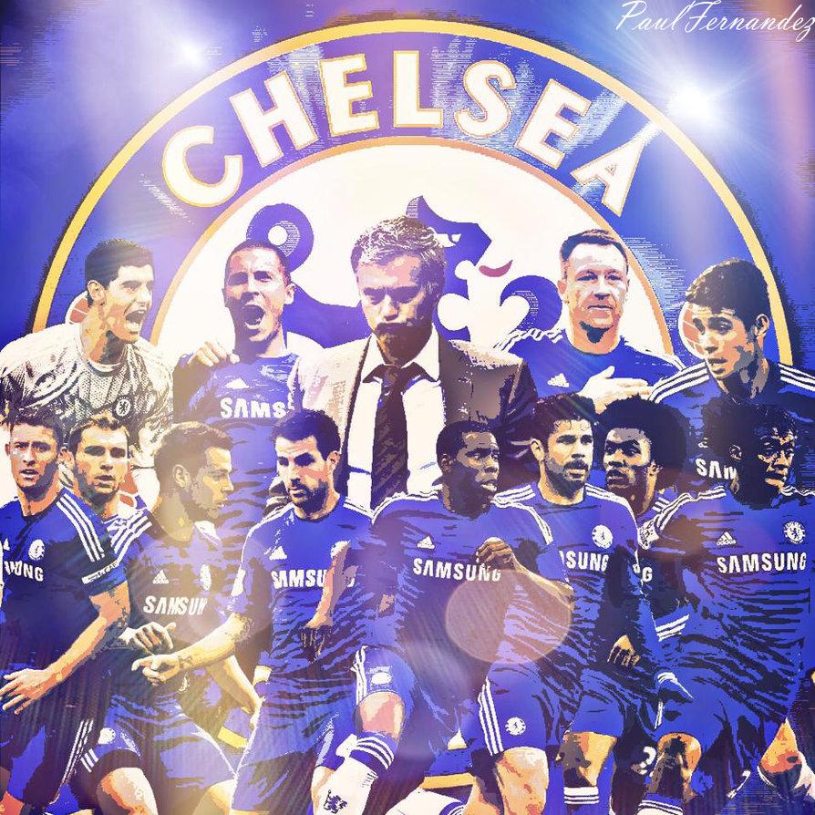CHELSEA FC 2015 16 WALLPAPER By PF730 894x894
