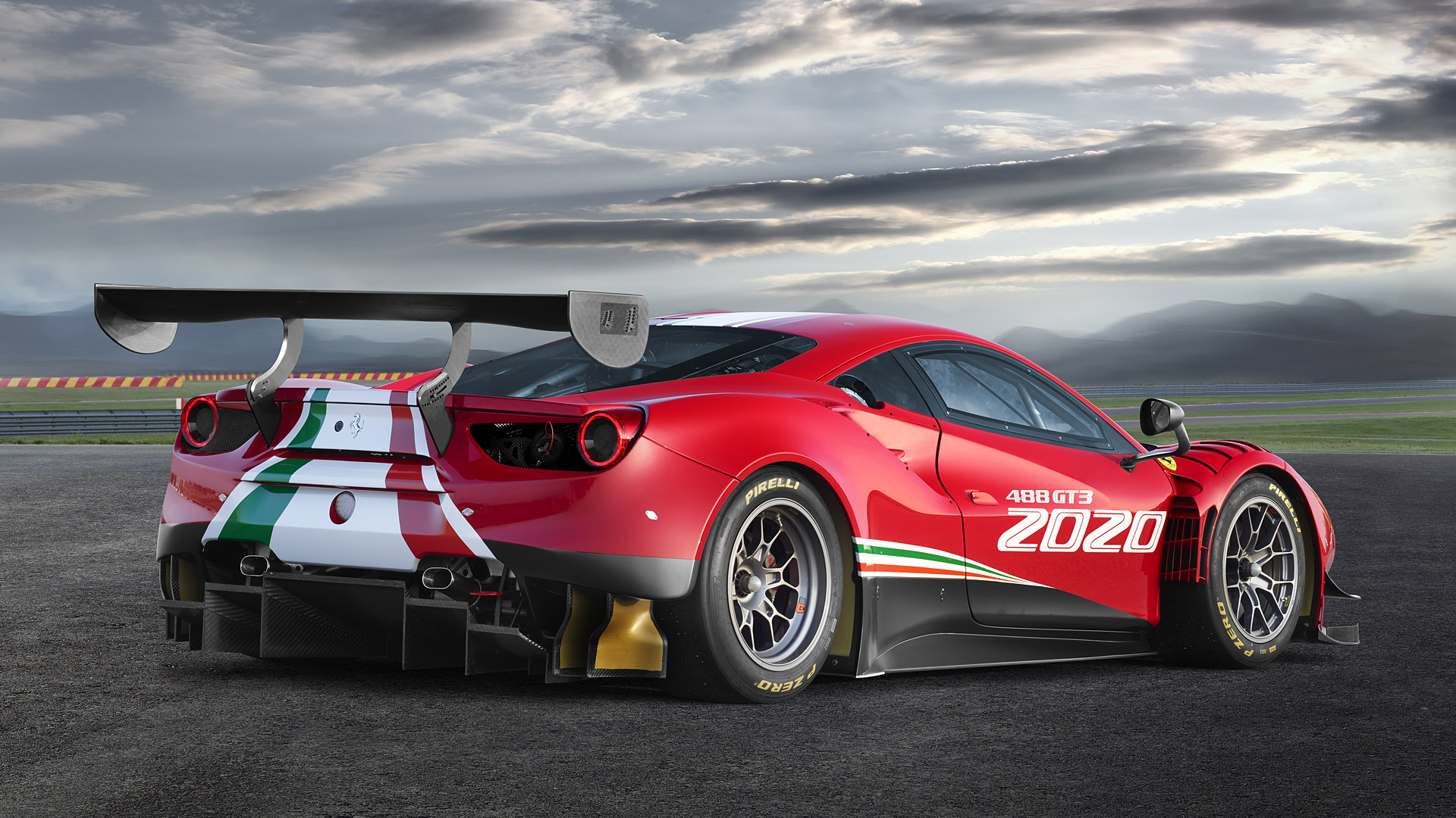 2020 Ferrari 488 GT3 Evo Wallpapers HD Images   WSupercars 1920x1080