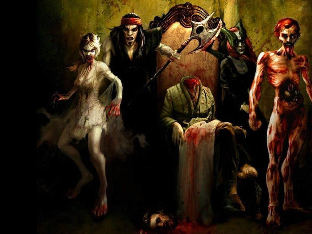 Zombie Wallpapers 1024x768