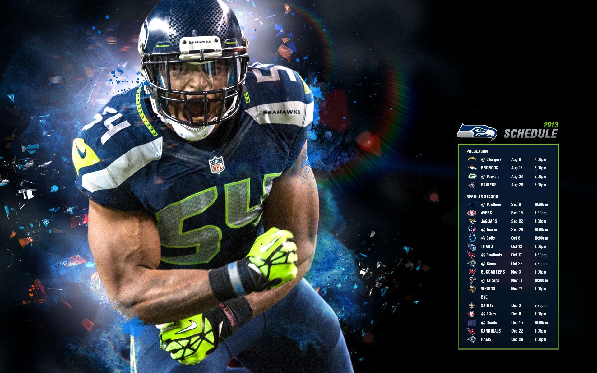 Seahawks Schedule 2013 HD Desktop Wallpaper HD Desktop Wallpaper 1920x1200