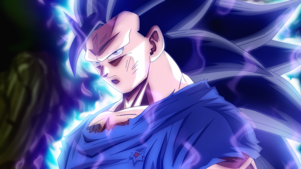 Goku Super Saiyan Ultra Instinct 3 by rmehedi 1024x576