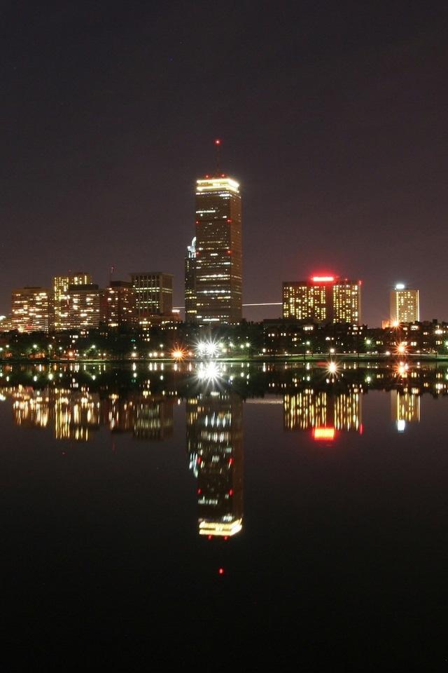 Boston Wallpaper Boston city iphone wallpapers 640x960