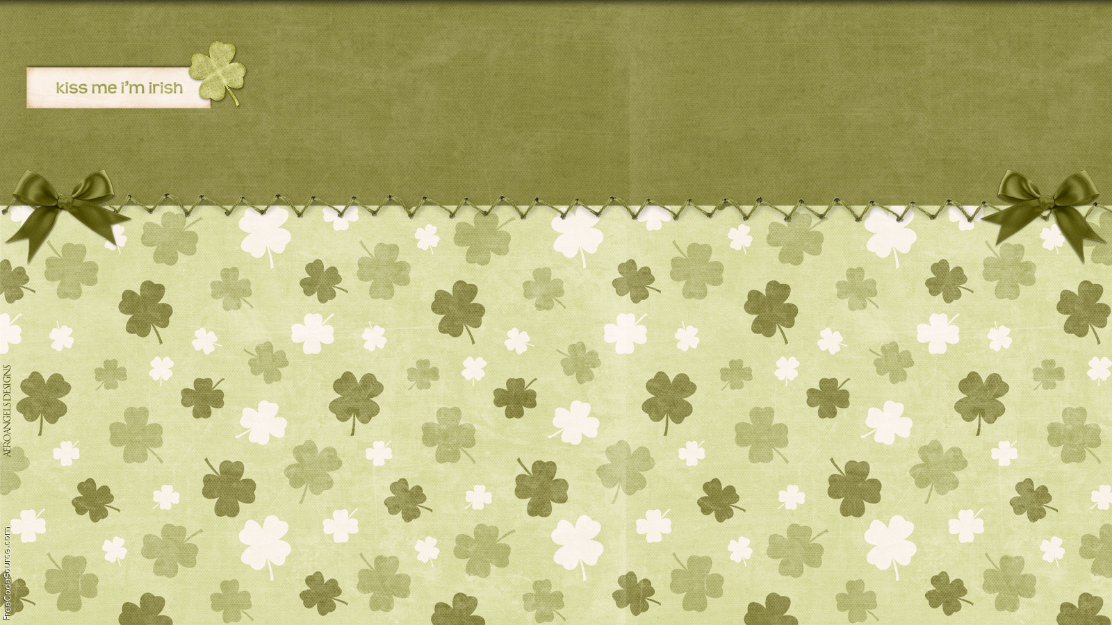 Kiss Me Im Irish Formspring Backgrounds Kiss Me Im Irish Formspring 1600x900