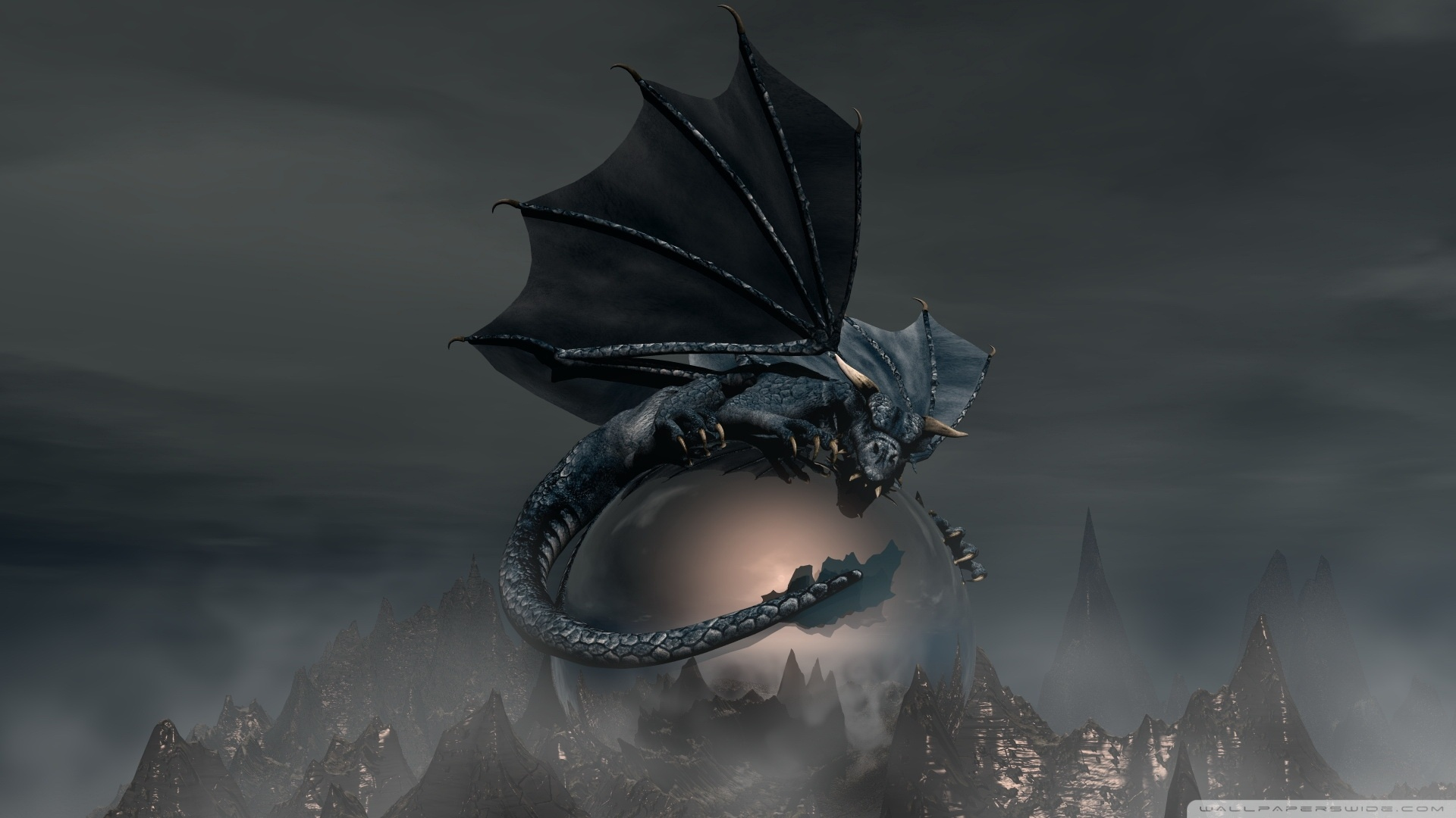 Black Dragon Wallpaper 1920x1080 Black Dragon 1920x1080