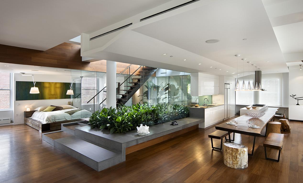 Modern Minimalist Interior Design   Home Design Picture 1267x766