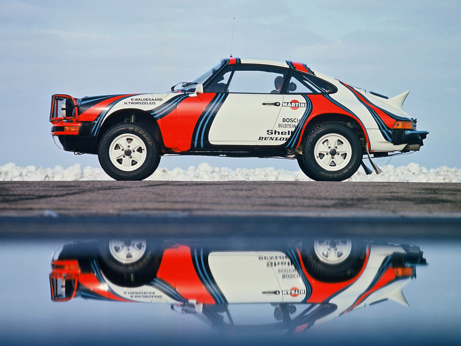 Porsche 911 SC Safari Rally 954 1978 Computer Wallpapers Desktop 1600x1200