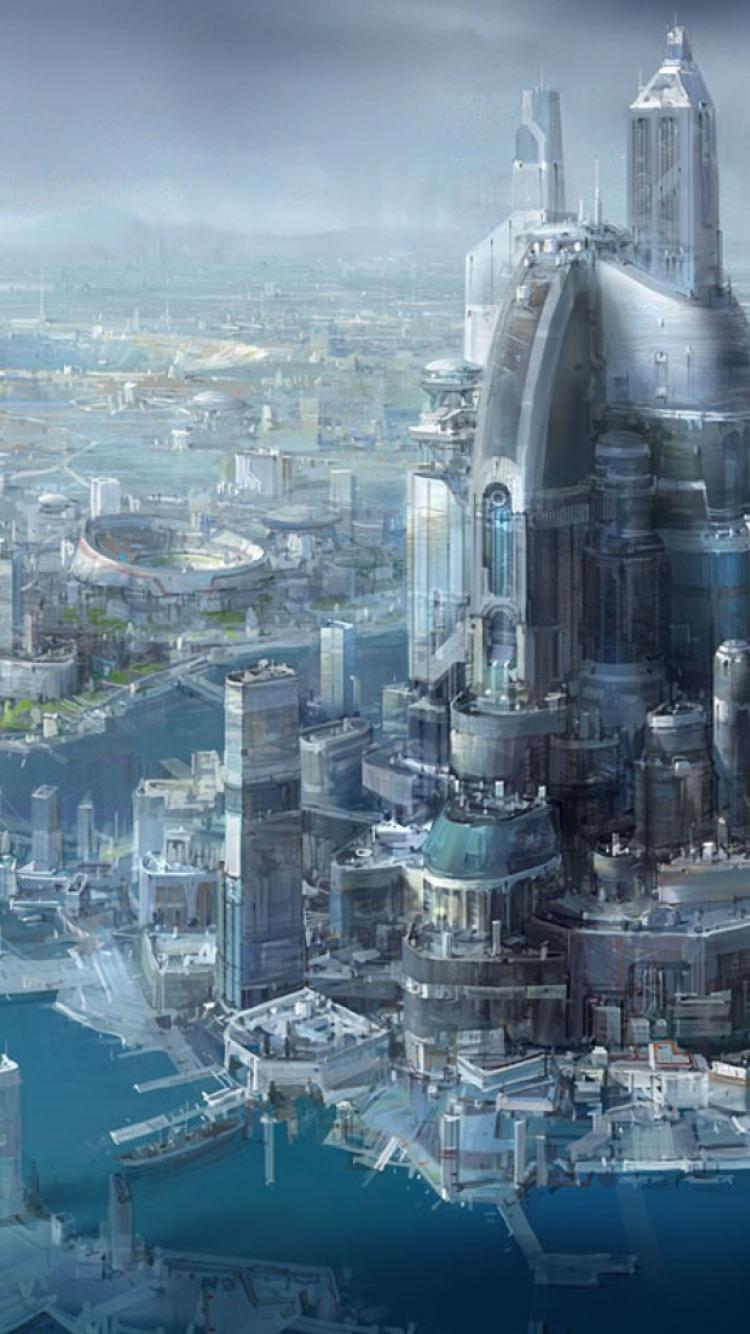 cityscapes futuristic wallpaper 1900x1041 - photo #22
