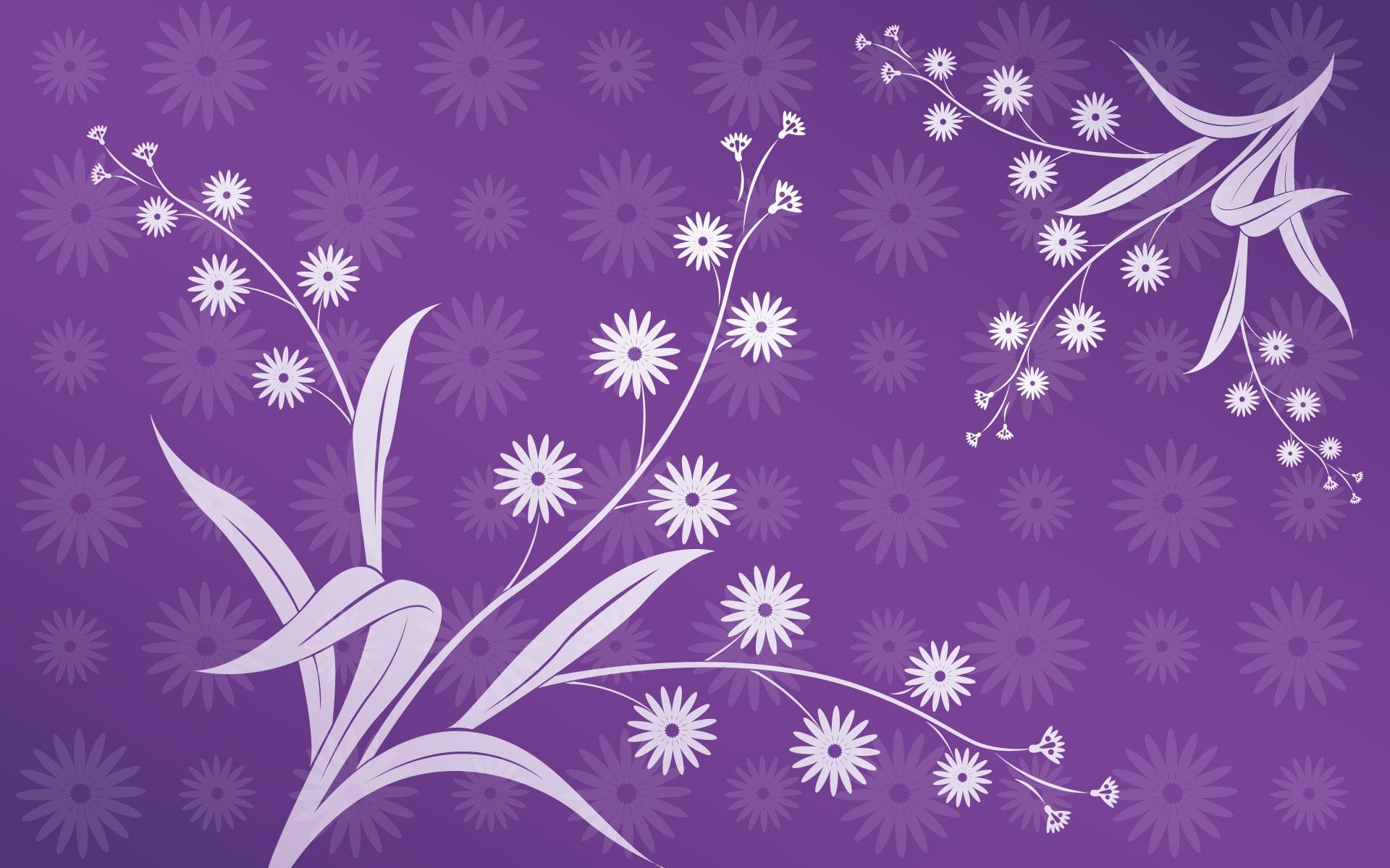 Purple Patterns Wallpaper 1920x1200 Purple Patterns Floral 1920x1200