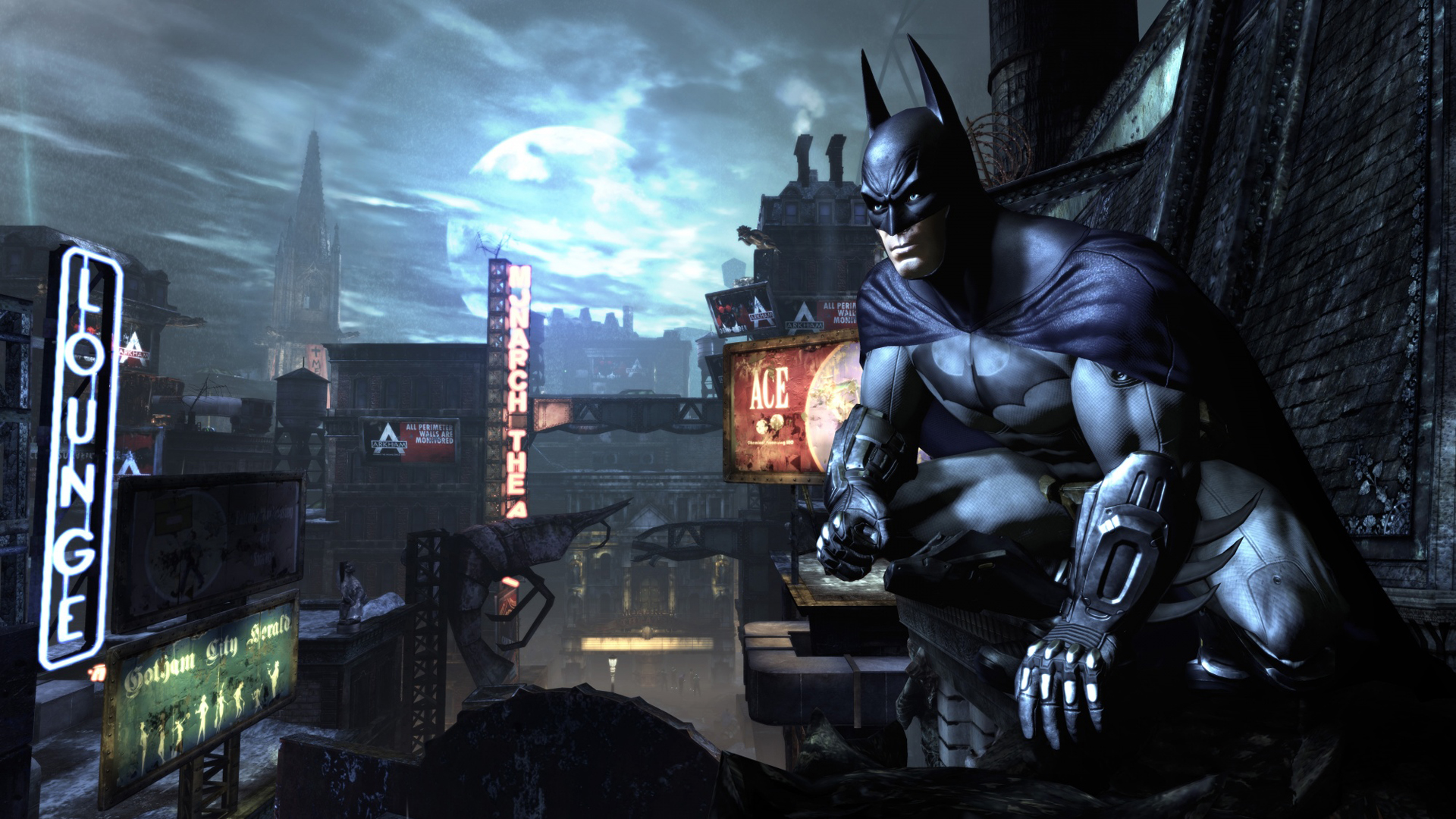 Batman Arkham City Gameplay wallpaper   568900 1920x1080