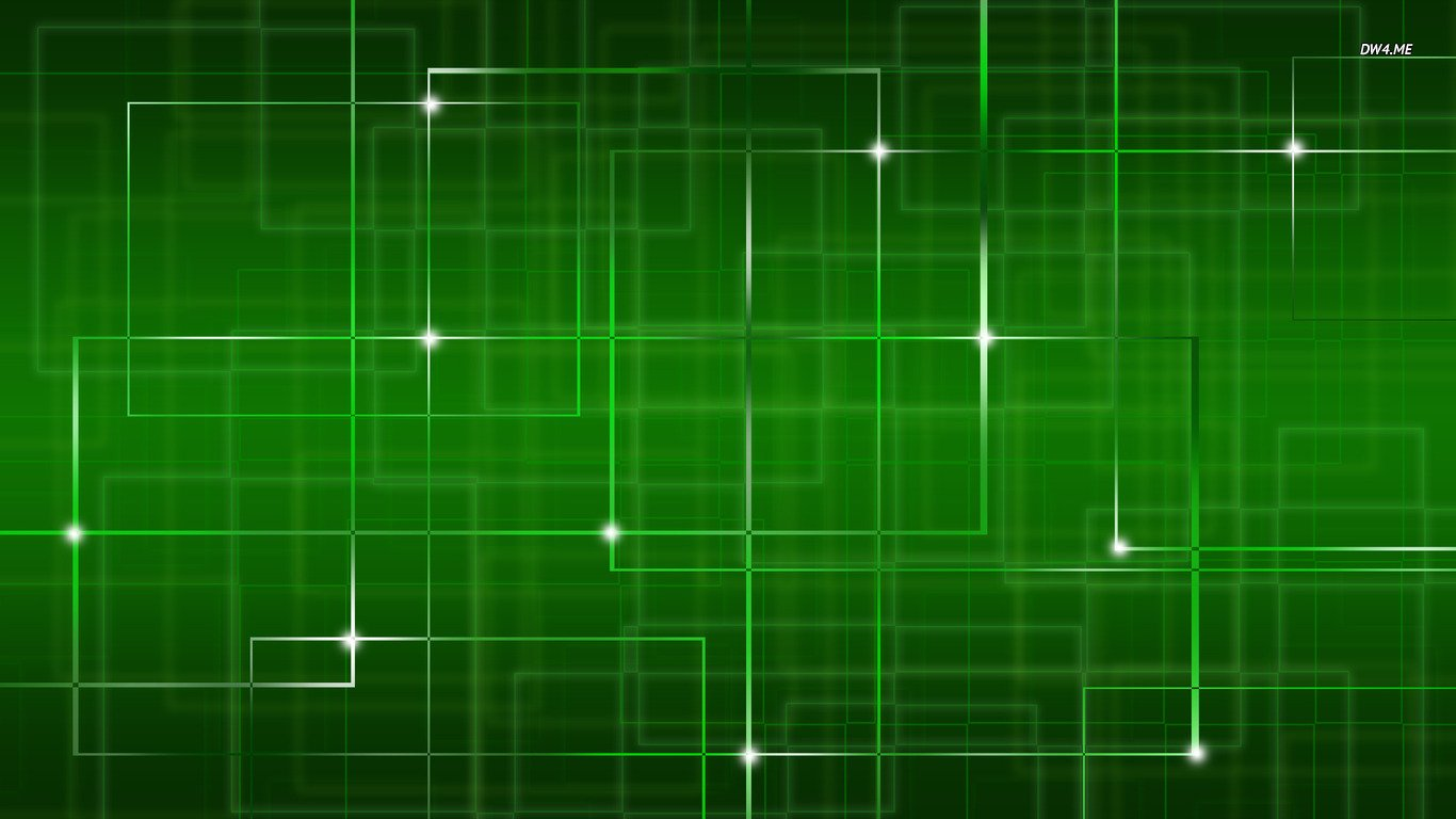 Green network wallpaper   Abstract wallpapers   807 1366x768