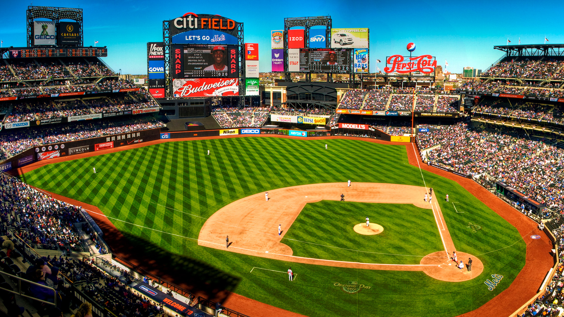 New York Mets Browser Themes Desktop Wallpapers 1920x1080