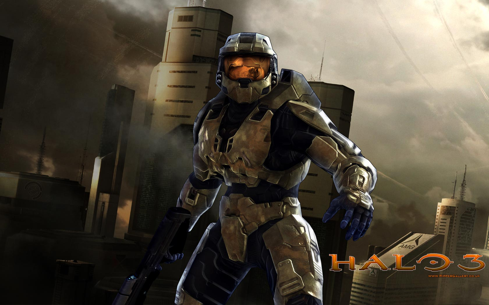 Widescreen HD Wallpaper Games Halo 3 series video game hd 1680x1050