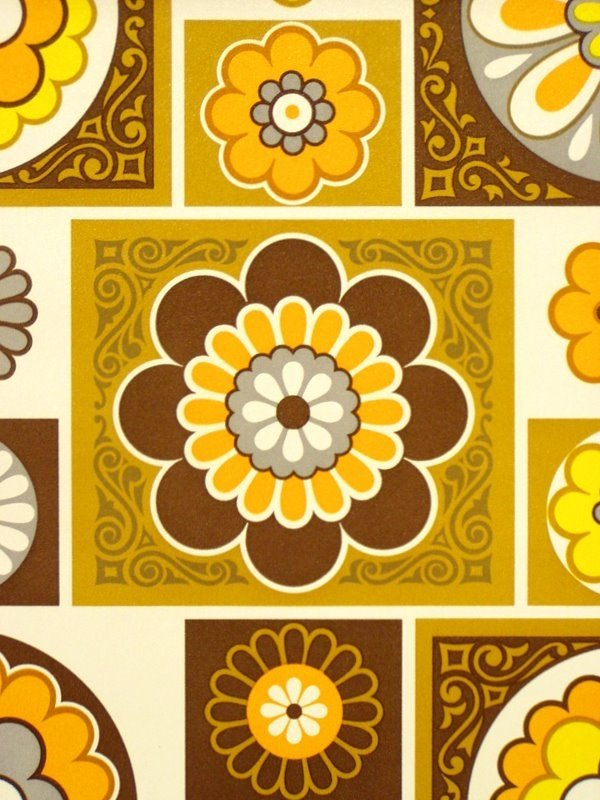 retro vinyl wallpaper vintage vinyl wallpaper panton wallpaper 600x800