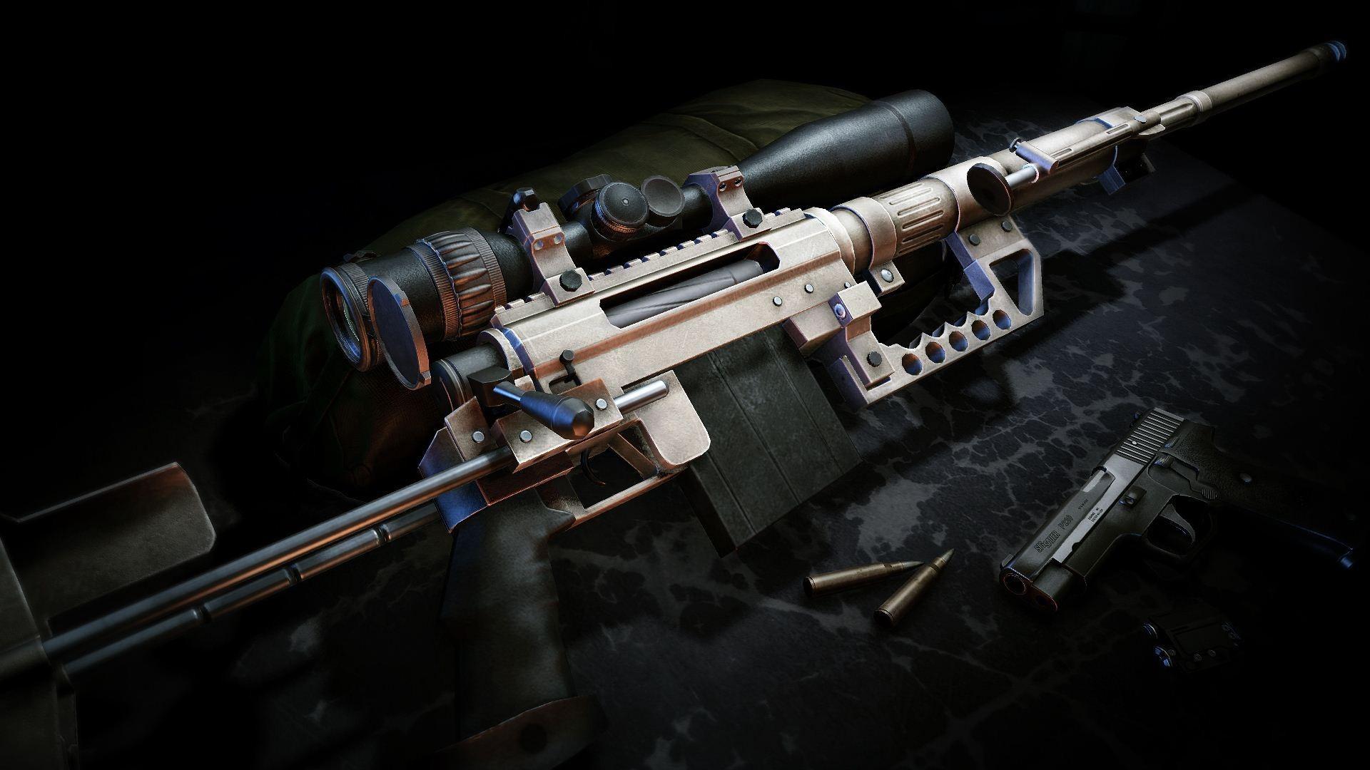 Wallpaper guns sniper rifles ammunition guns sniper ghost warrior 1920x1080