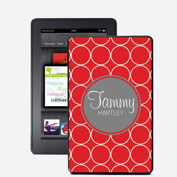 TABLET CASES KINDLE Hoops Monogrammed Kindle Fire Snap On Case 600x600