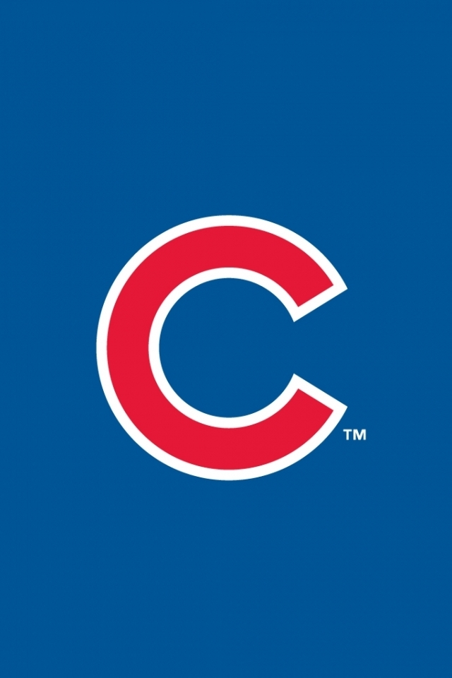 Chicago Cubs iPhone 4s Wallpaper 640x960