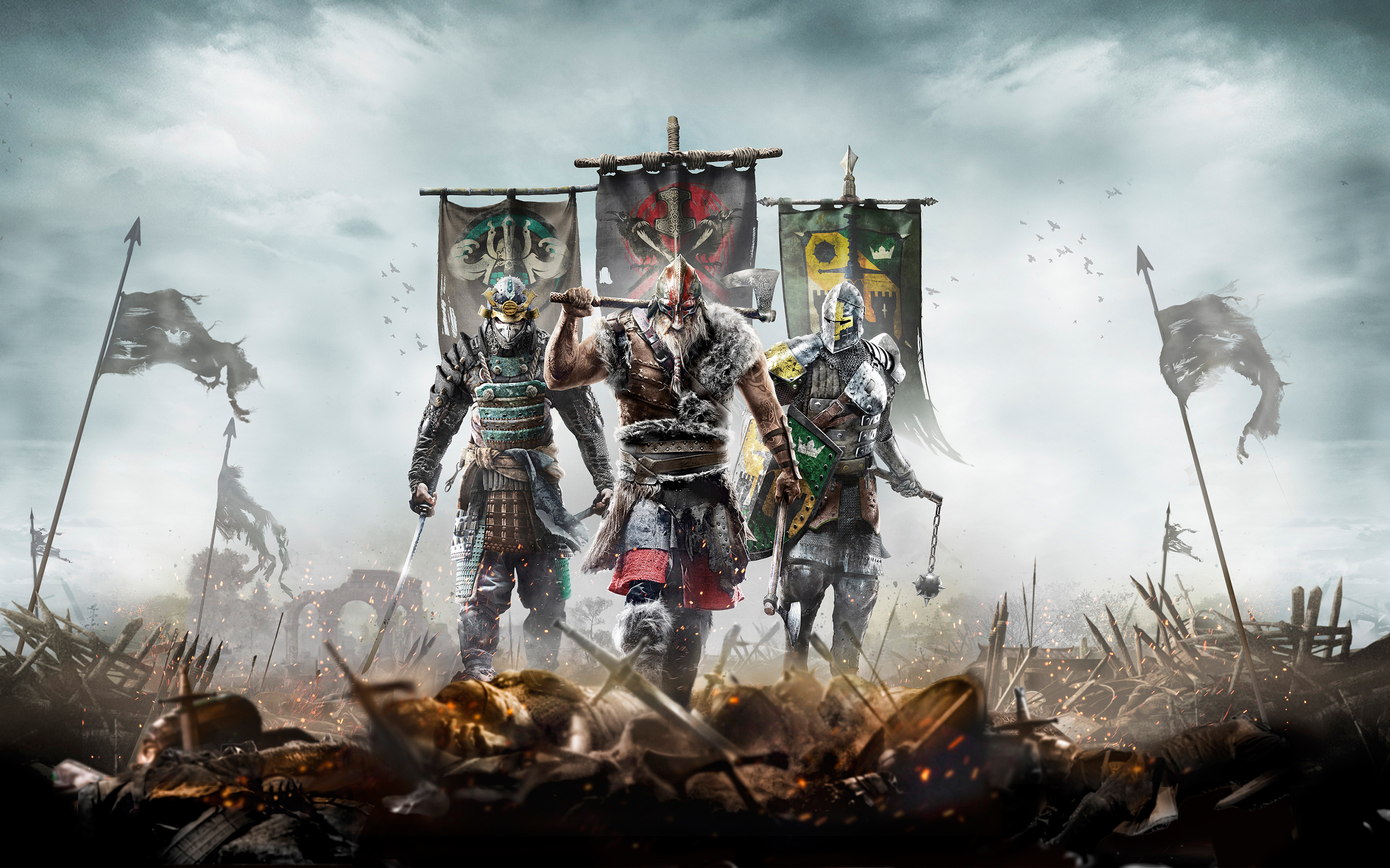 For Honor 2016 Game Wallpapers HD Wallpapers 2880x1800