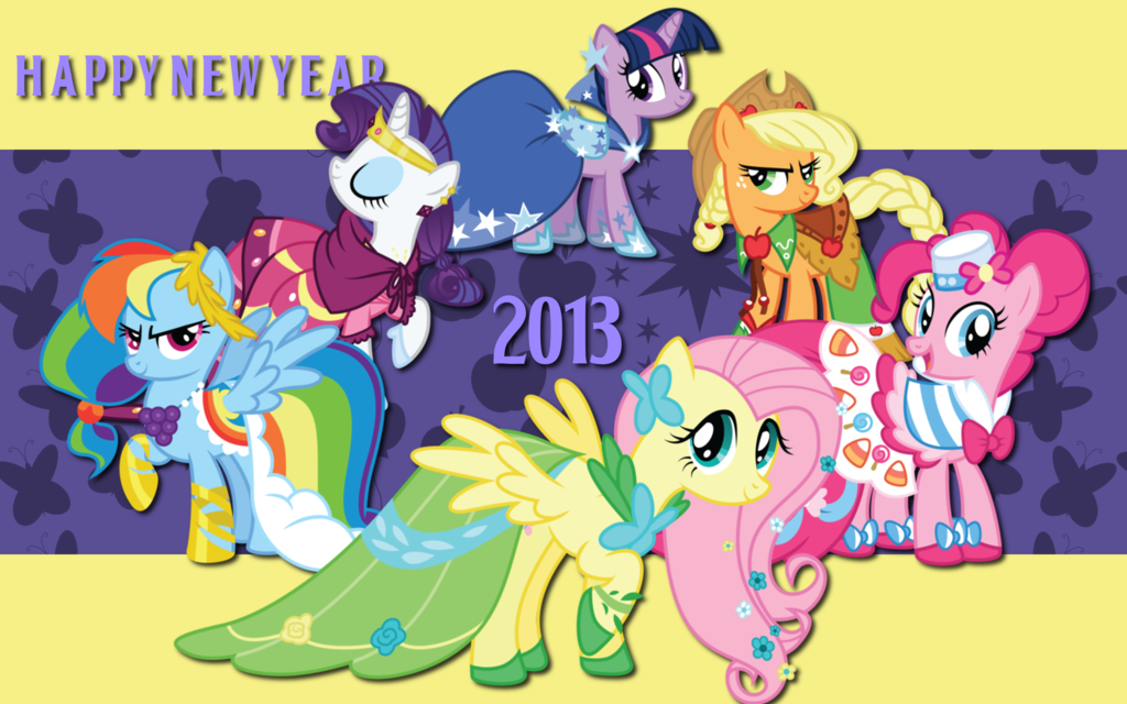 My Little Pony Fim Wallpapers 1024x640