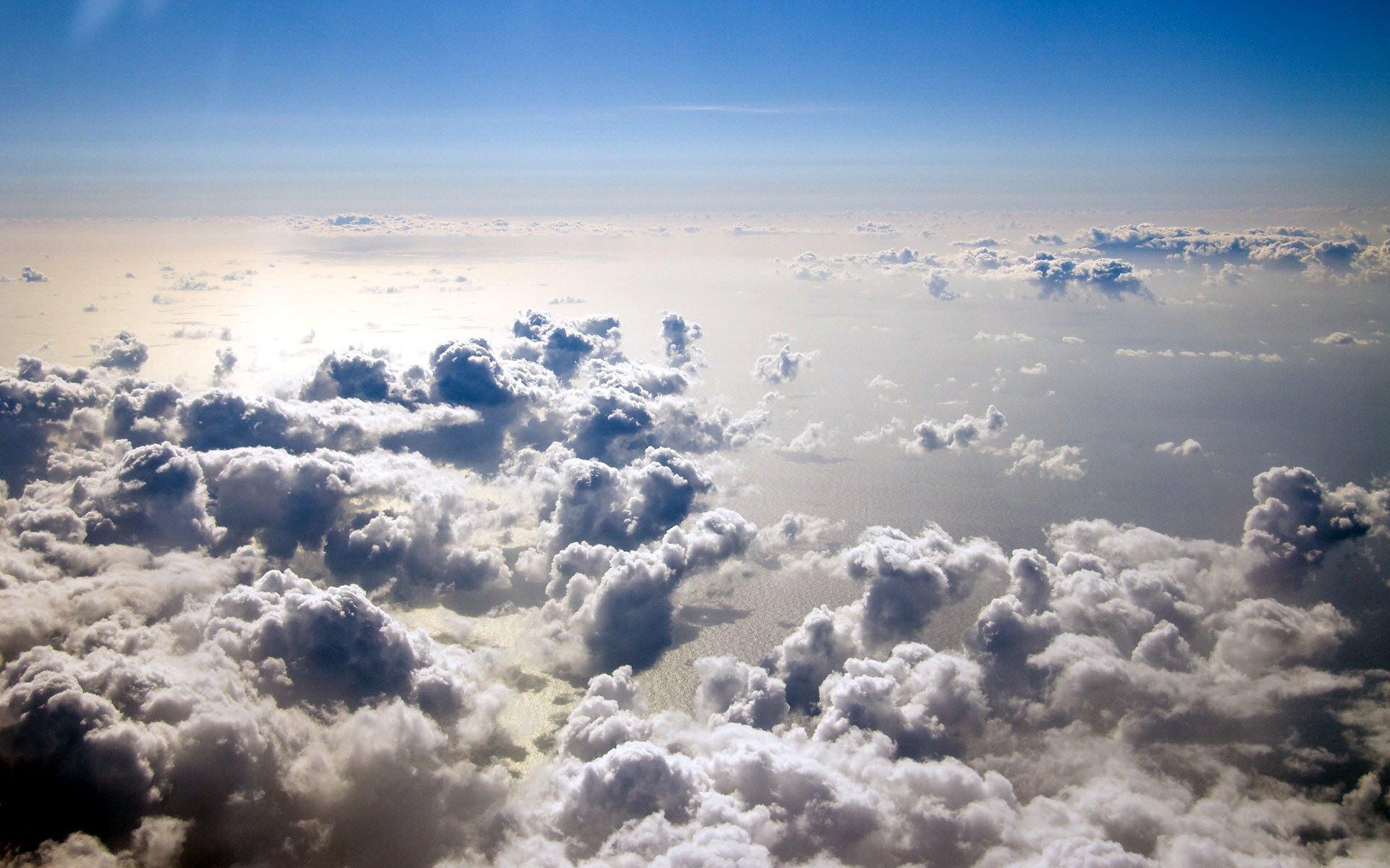 In the Clouds desktop wallpaper 1920x1200