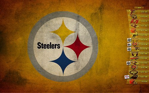 2010 Pittsburgh Steelers Wallpaper Schedule   Images and videos 500x313