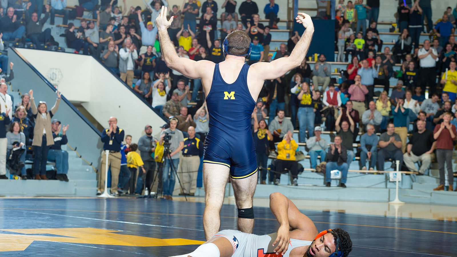 Max Huntley   Wrestling   University of Michigan Athletics 1600x900
