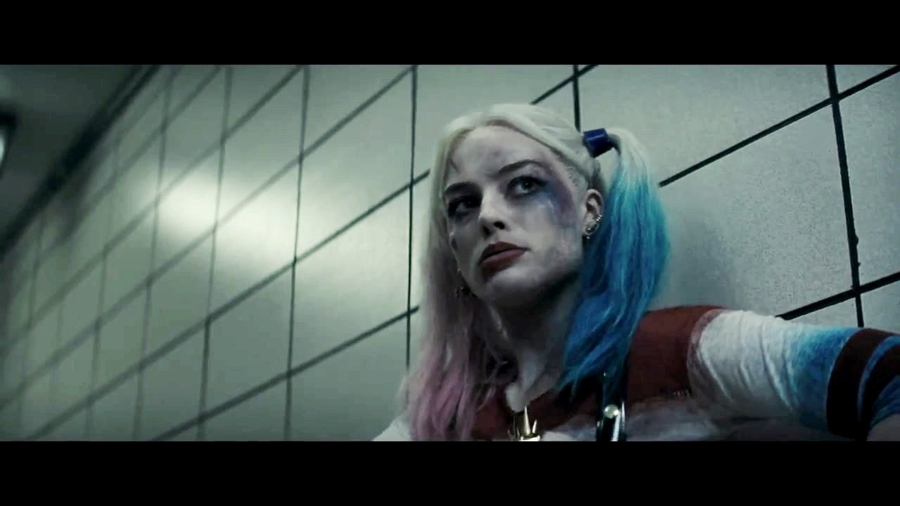 Harley Quinn Margot Robbie as Harley Quinn in the First Trailer for 1280x720