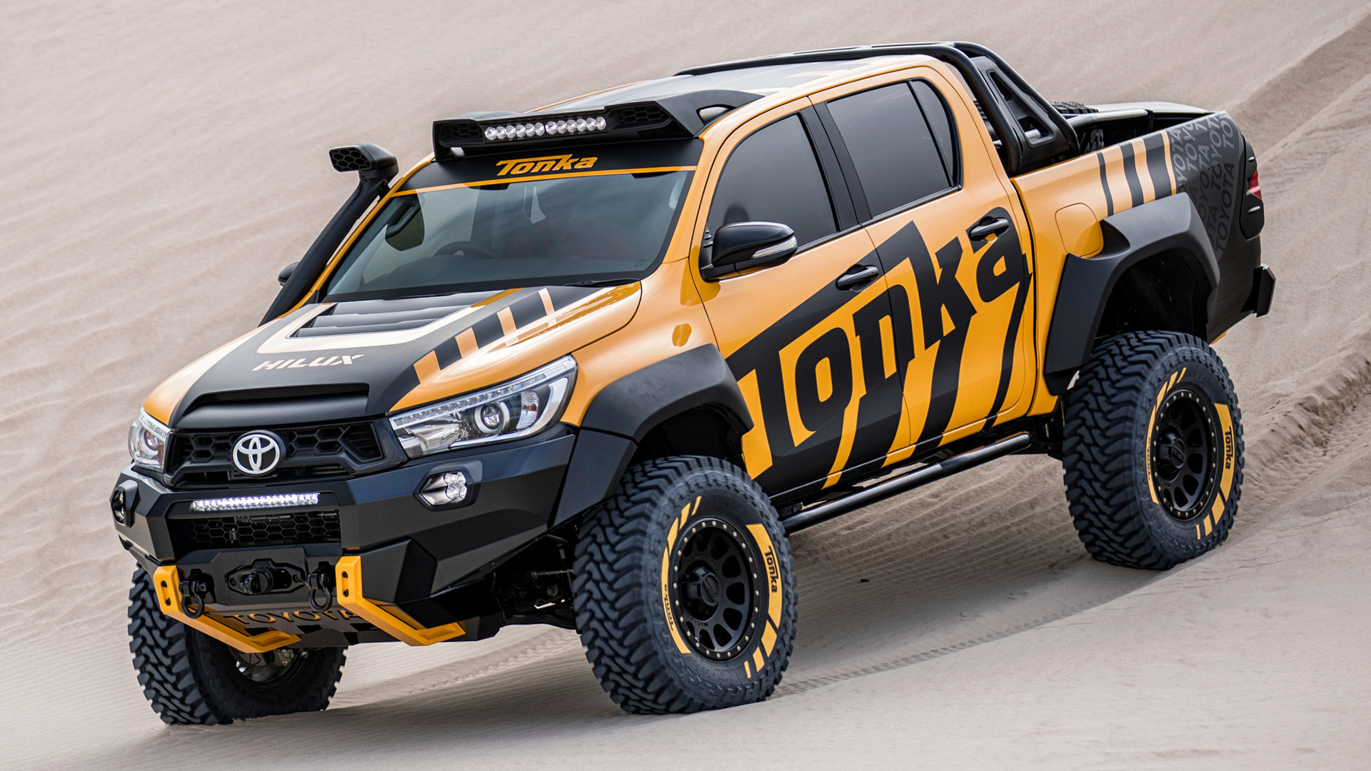2017 Toyota Hilux Tonka Concept   Wallpapers and HD Images Car Pixel 1920x1080