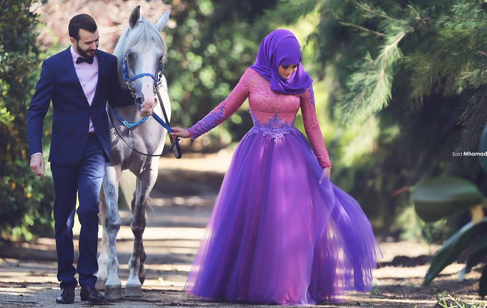 150 Most Romantic Muslim Couples Islamic Wedding Pictures 960x607