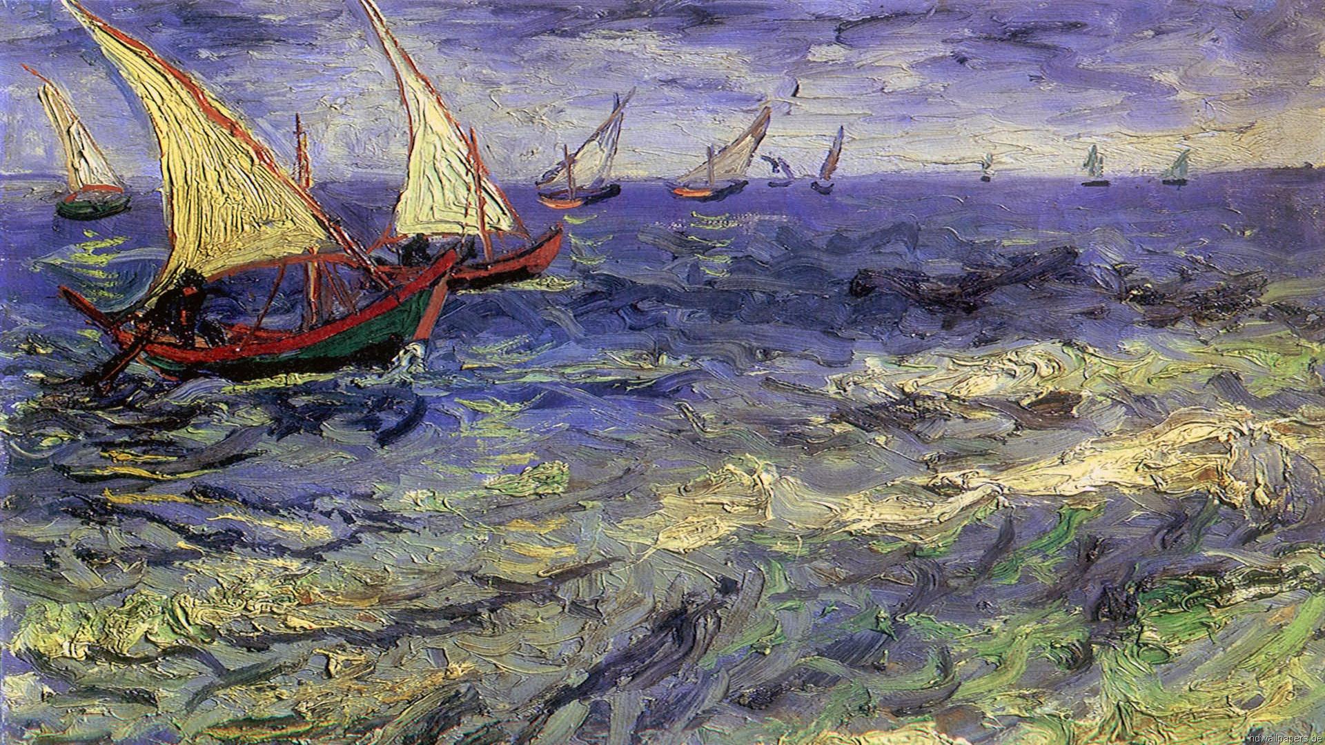 Van Gogh Wallpapers HD Painting Desktop Vincent 1920x1080