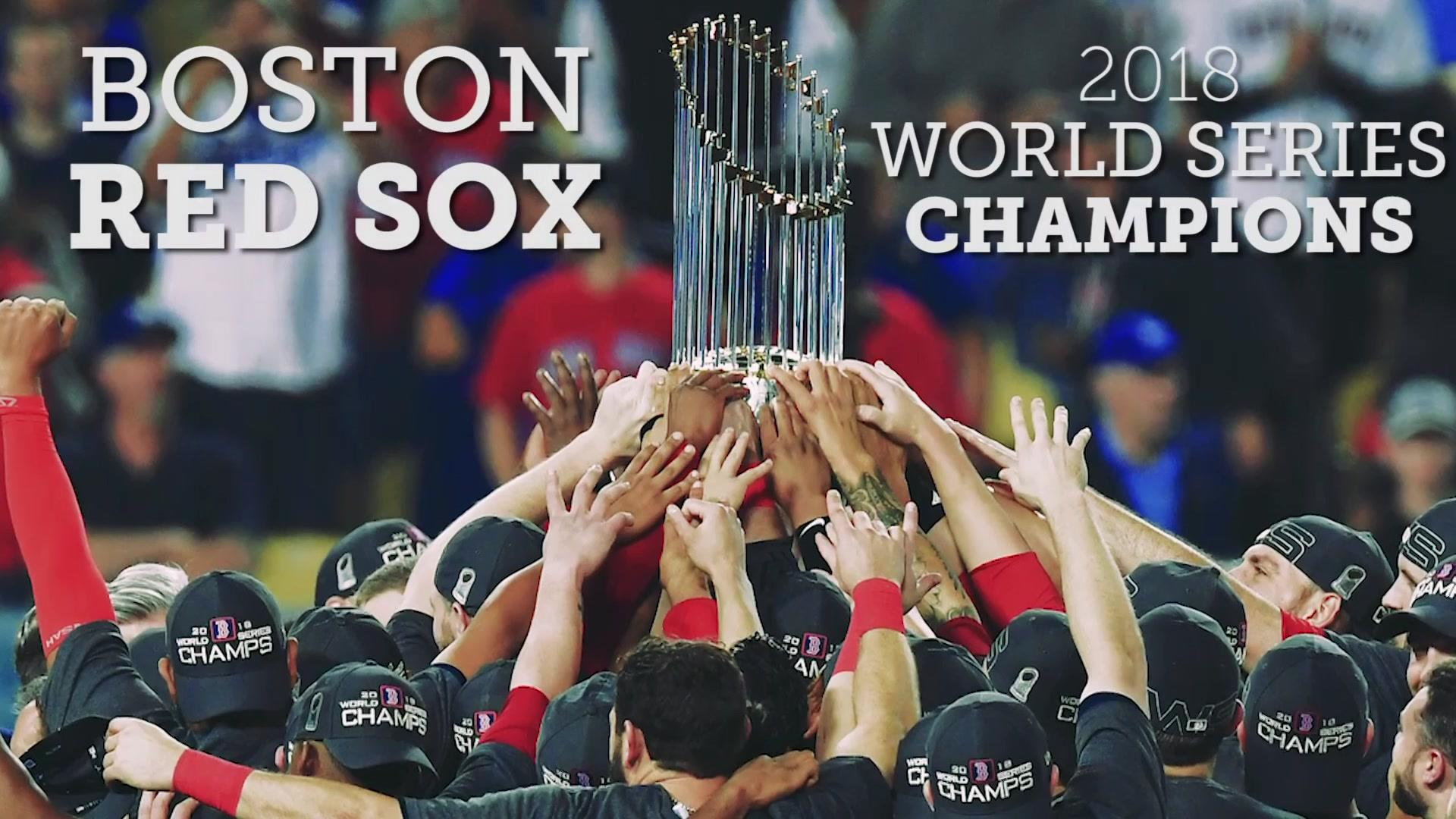 Red Sox defeat Dodgers in Game 5 to win the World Series NBC 1920x1080