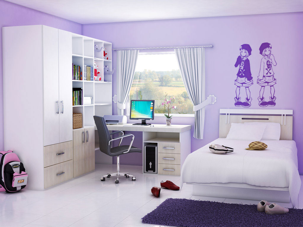 Cute Bedroom Wallpaper DescargasMundialescom - Teen bedroom wallpaper ideas