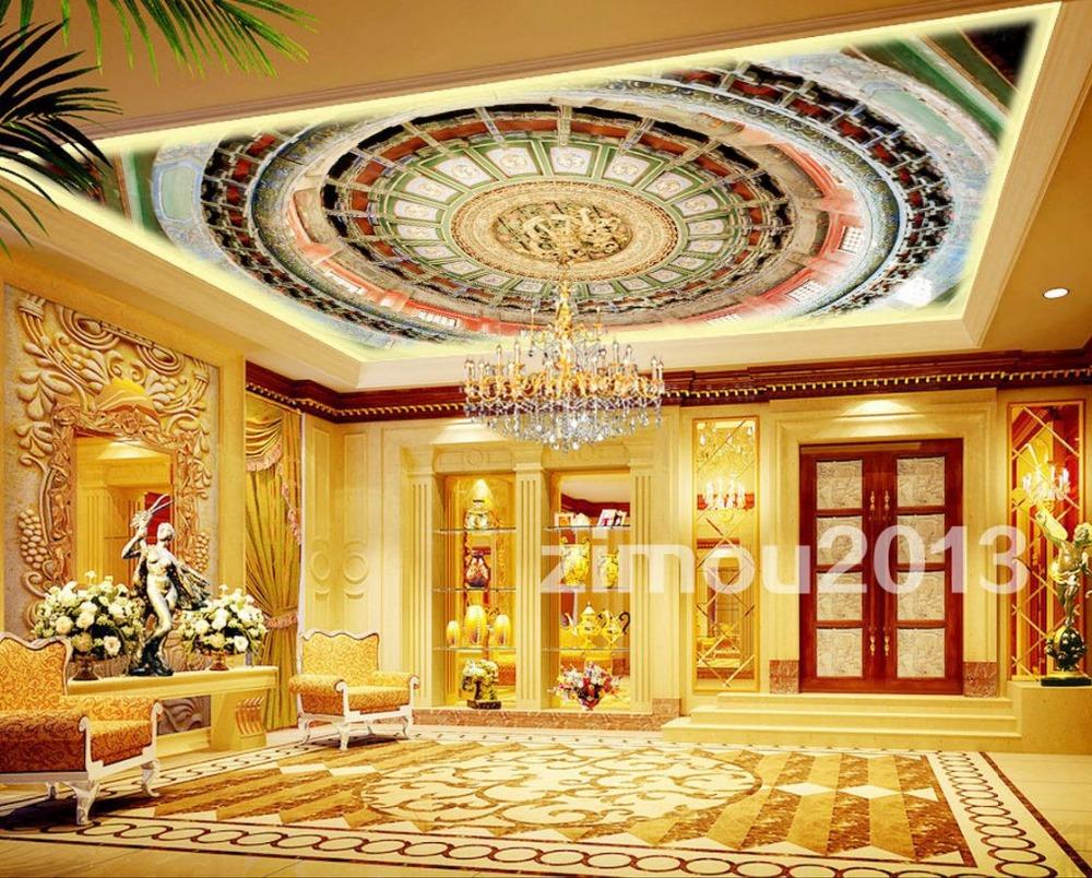25 Ornate Ceiling Wallpaper Murals On Wallpapersafari