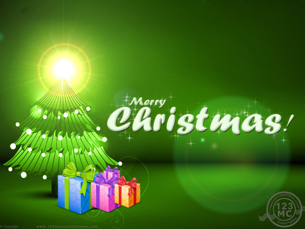 Pics Photos   Merry Christmas Wallpaper For Desktop 1024x768