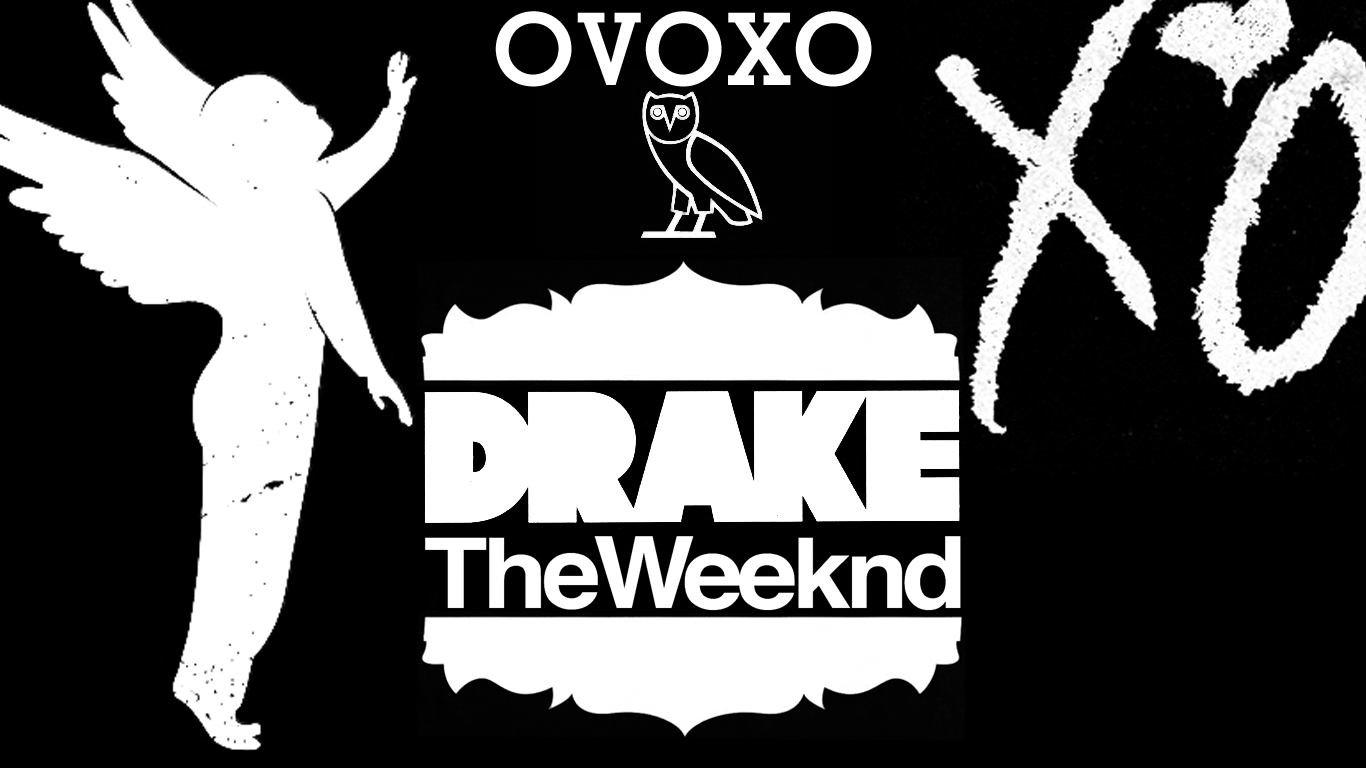 Drake The Weeknd OVOXO Rap Wallpapers 1366x768