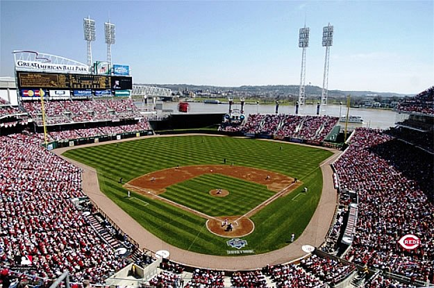 SkyBox Sports Scenes Cincinnati RedsGreat American Ballpark 625x415
