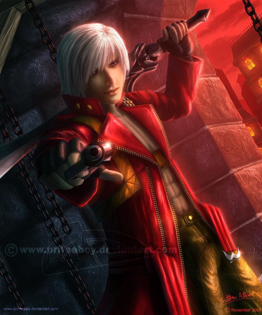 Free Download Devil May Cry 3 Dante By Priteeboy 900x1080