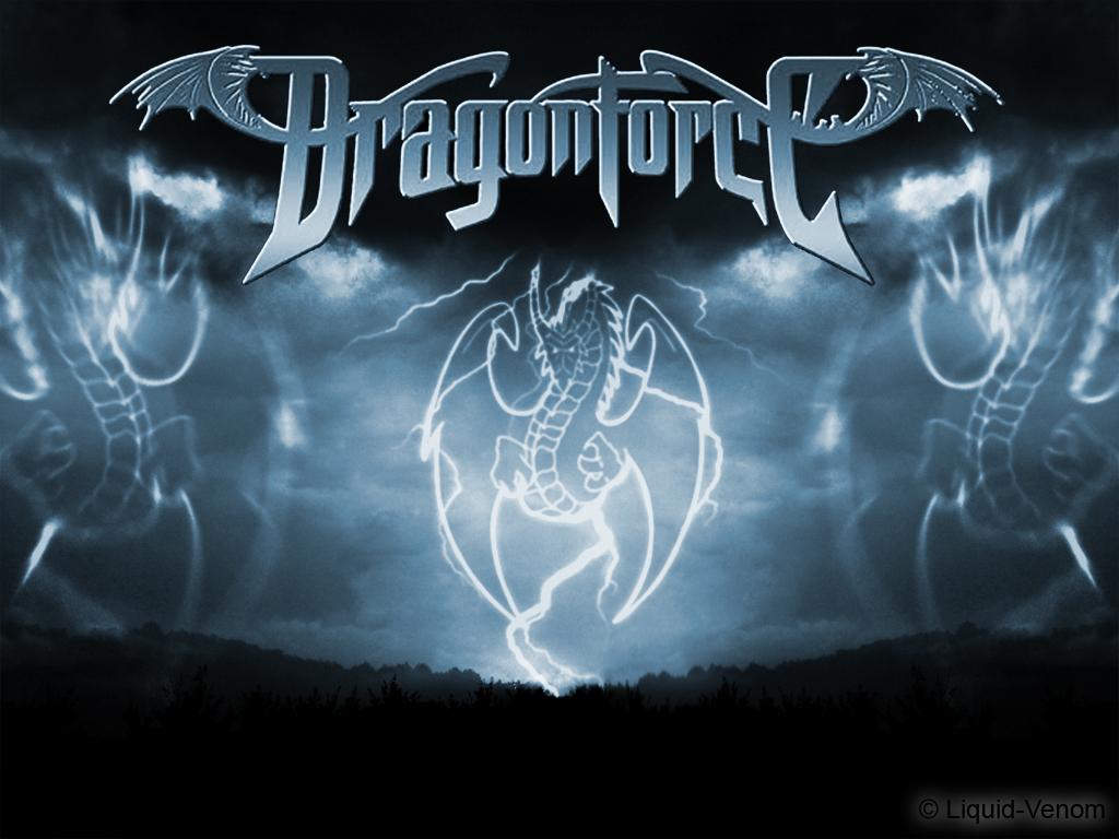 Venom Band Logo Wallpaper Dragonforce wallpaper 1024x768