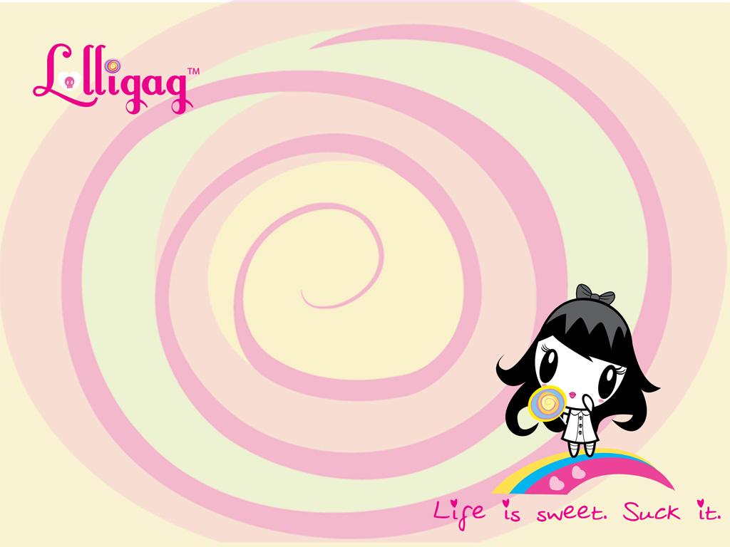 Kawaii Wallpaper by Lolligag Life Is Sweet Suck It Hawaii 1024x768