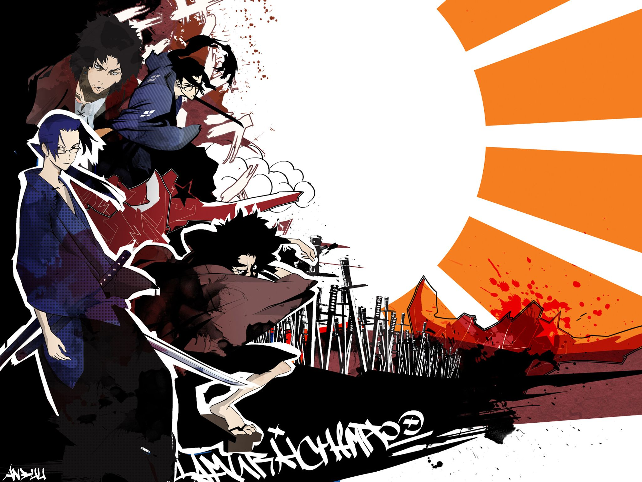 samurai champloo Samurai champloo Samurai Wallpaper backgrounds 2048x1536