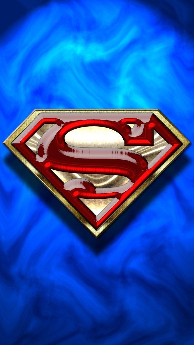 Superman phone wallpaper by Balsavor 670x1191