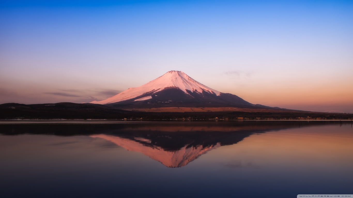 Mount Fuji Wallpapers 82 1366x768