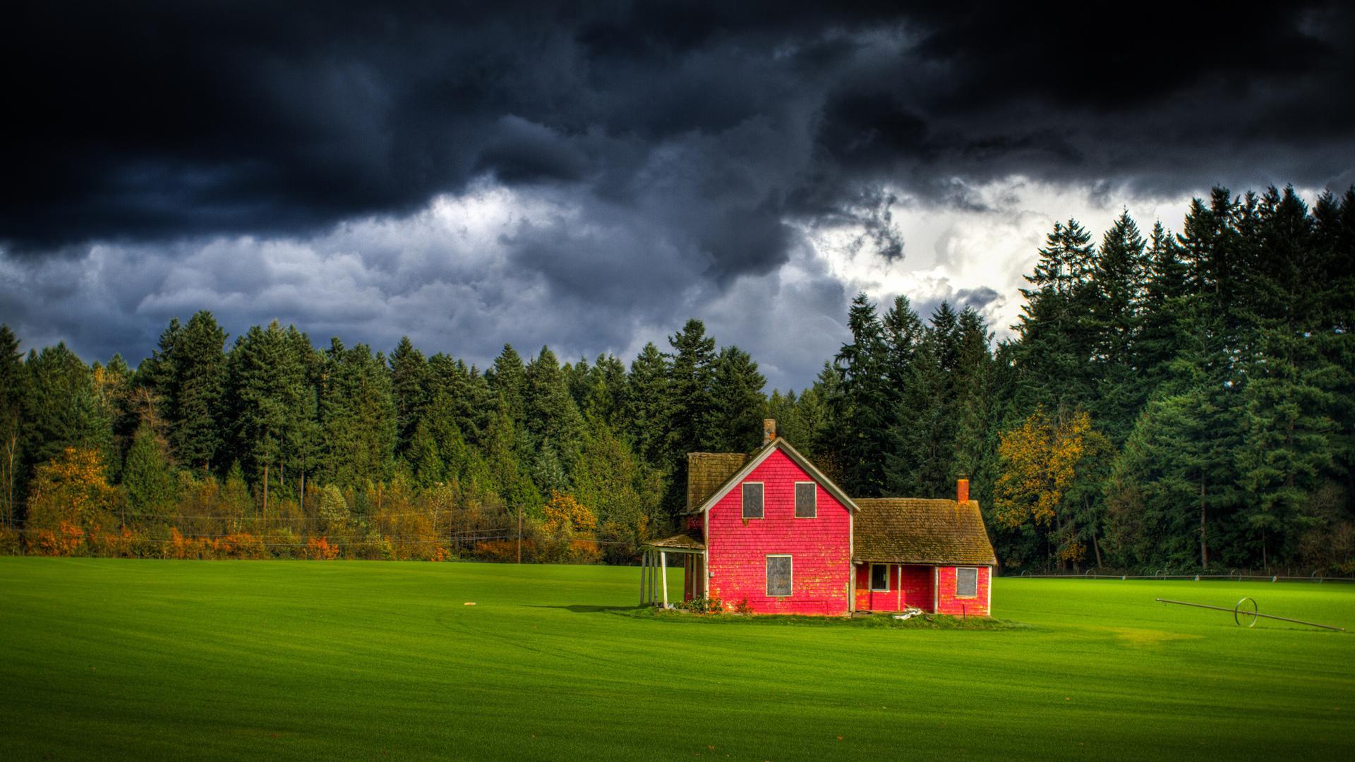 Farmhouse Wallpapers HD 1920x1080