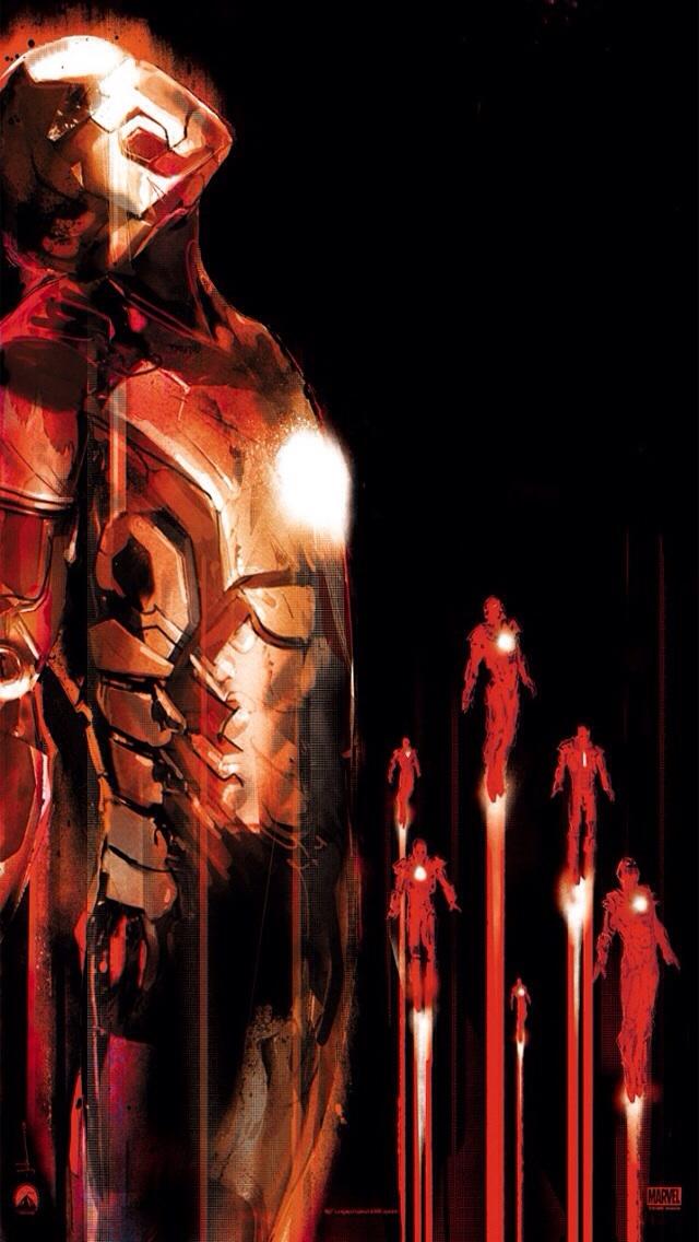 Iron Man iPhone 55s wallpaper iimgurcom 640x1136