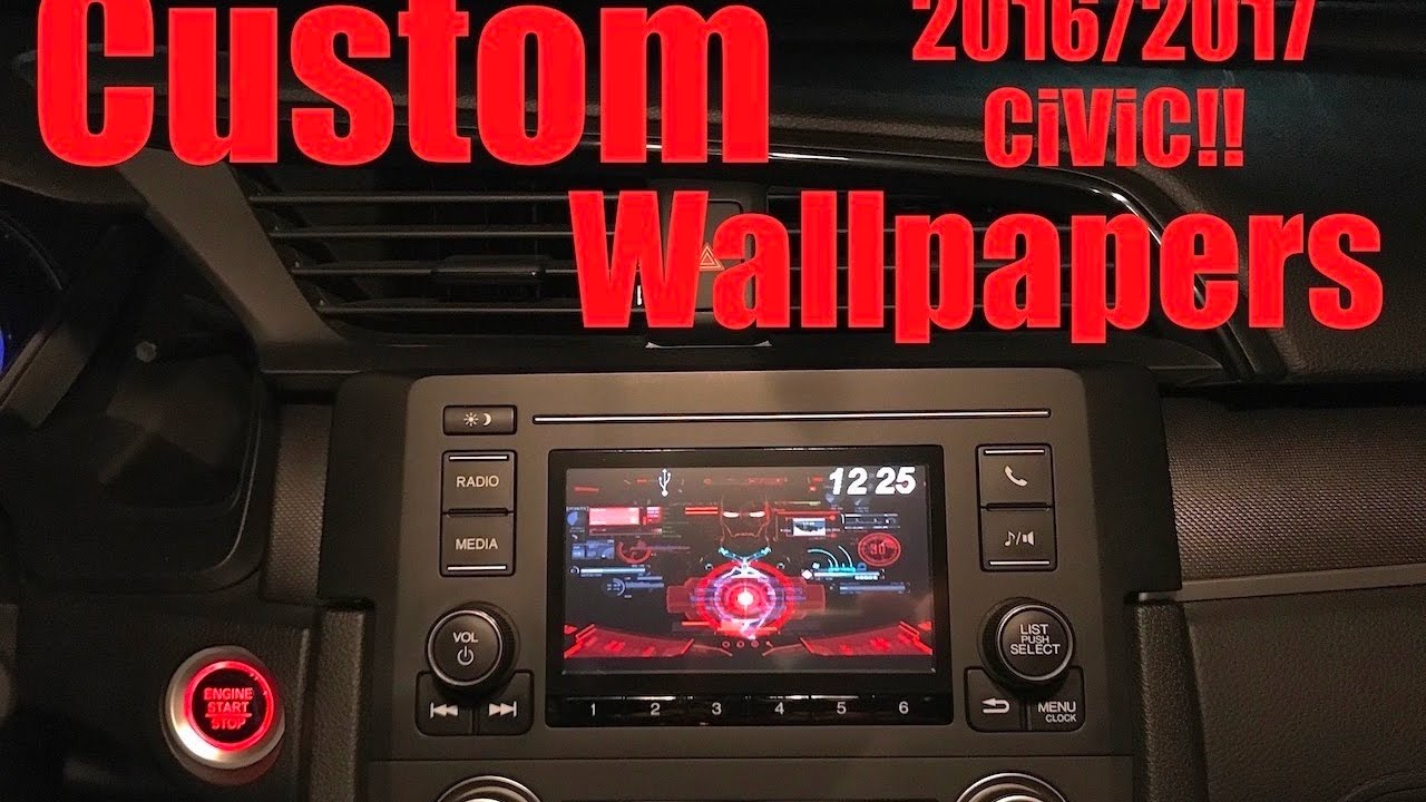 How to AddChange Wallpapers on 20162017 Civic 1280x720