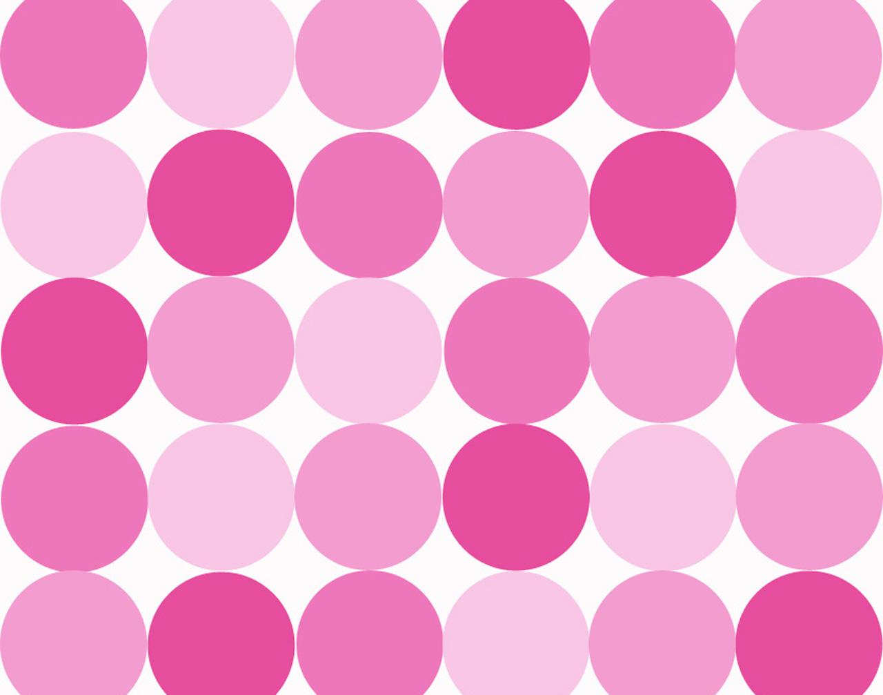 Pink polka dot backgrounds hd wallpaper background